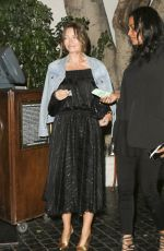 REBECCA GAYHEART Leaves Chateau Marmont in Los Angeles 05/12/2017