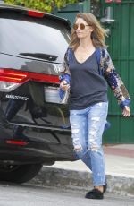 REBECCA GAYHEART Out and About in Beverly Hills 05/09/2017