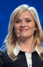 REESE WITHERSPOON at 2017 Milken Institute Global Conference in Beverly Hills 05/03/2017