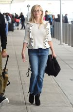 REESE WITHERSPOON at JFK Airport in New York 04/30/2017