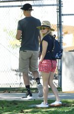 REESE WITHERSPOON Out and About in Brentwood 04/292017