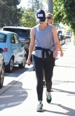 REESE WITHERSPOON Out for Morning Workout in Brentwood 05/07/2017