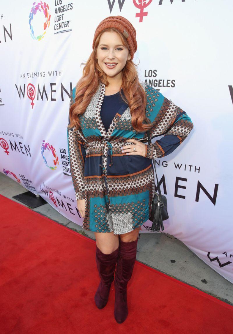RENEE OLSTEAD at Los Angeles LGBT Center
