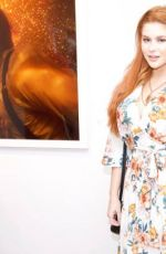 RENEE OLSTEAD at Tyler Shields Photo Exhibit in Hollywood 05/11/2017