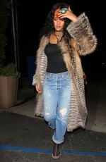 RIHANNA Arrives at Giorgio Baldi Restaurant in Santa Monica 05/11/2017