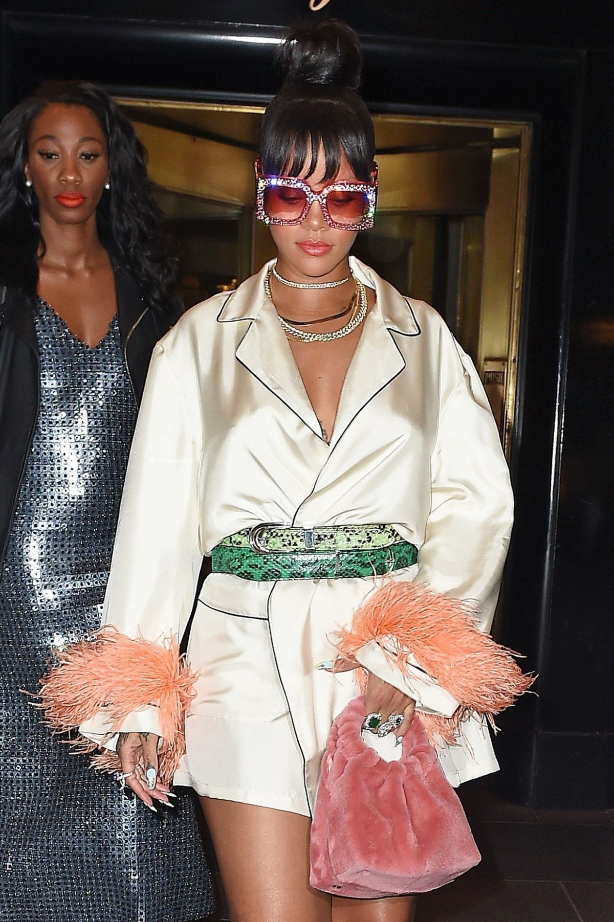 RIHANNA Arrives at MET Gala After Party in New York 05/01/2017