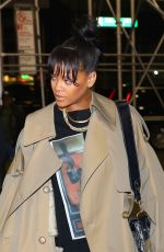 RIHANNA Arrives at Roc Nation Office in New York 05/03/2017