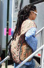 RIHANNA Arrives on the Set of Ocean