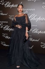 RIHANNA at Chopard Dinner at 70th Cannes Film Festival 05/18/2017