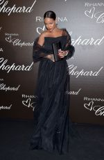 RIHANNA at Chopard Dinner at 70th Cannes Film Festival 05/18/2017