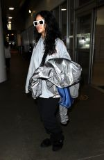 RIHANNA at LAX Airport in Los Angeles 05/05/2017