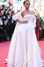 RIHANNA at Okja Premiere at 70th Annual Cannes Film Festival 05/19/2017