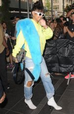RIHANNA Out and About in New York 05/01/2017