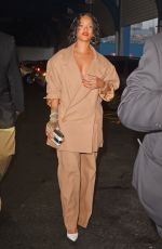 RIHANNA Out and About in New York 05/22/2017