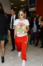 RITA ORA Arrives at Airport in Nice 05/22/2017