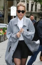 RITA ORA Arrives at Global House in London 05/19/2017