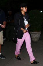 RITA ORA Arrives at Her Hotel in New York 05/02/2017
