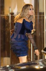 RITA ORA Arrives at Martinez Hotel in Cannes 03/23/2017