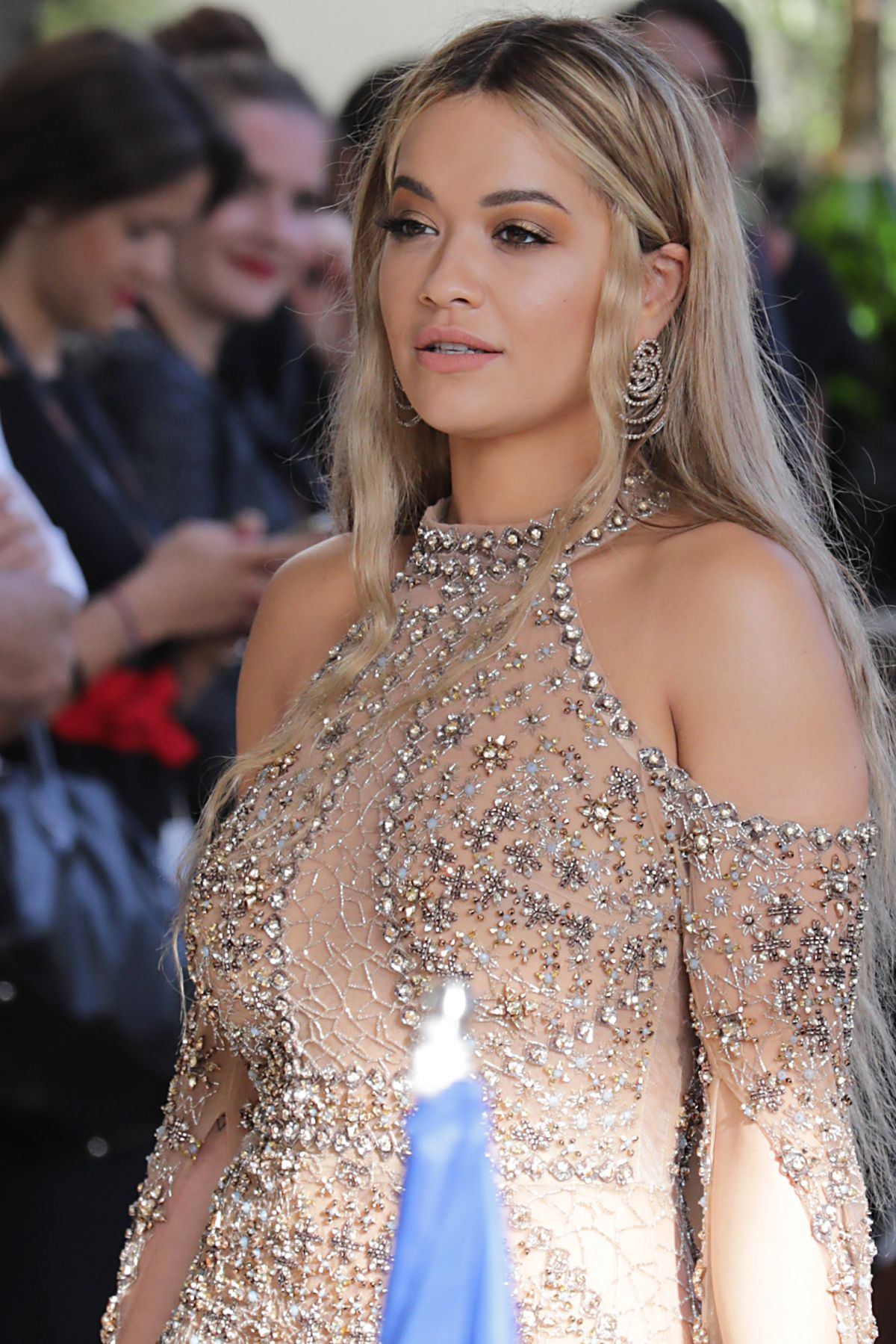 RITA ORA Arrives at Martinez Hotel in Cannes 05/23/2017
