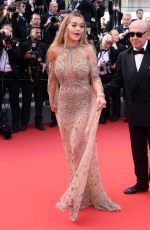 RITA ORA at Anniversary Soiree at 70th Annual Cannes Film Festival 05/23/2017
