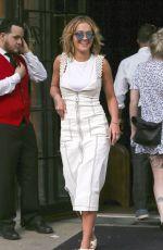 RITA ORA Leaves Bowery Hotel in New York 04/29/2017