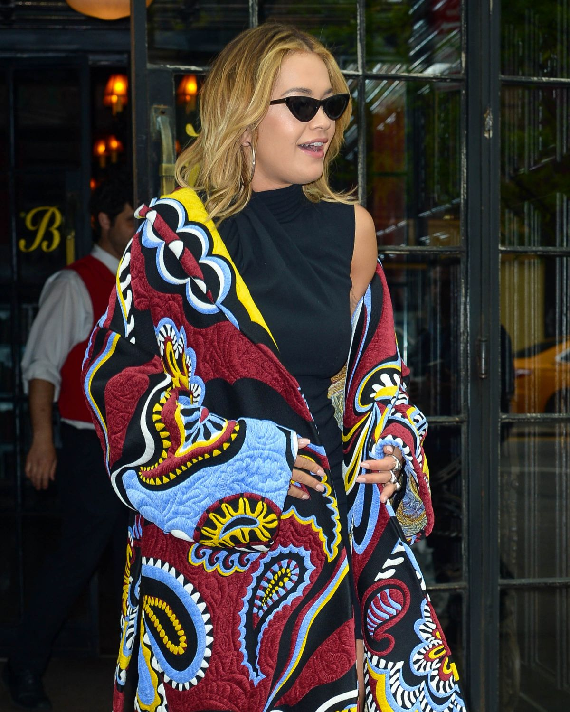 RITA ORA Leaves Bowery Hotel in New York 04/30/2017