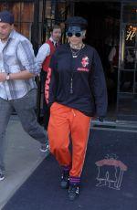 RITA ORA Leaves Her Hotel in New York 05/03/2017