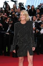 ROBIN WRIGHT PENN at Ismael's Ghosts Screening and Opening Gala at 70th Annual Cannes Film Festival 05/17/2017
