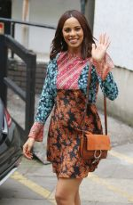 ROCHELLE HUMES Leaves ITV Studios in London 05/30/2017