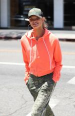 ROMEE STRIJD Out and About in West Hollywood 05/08/2017