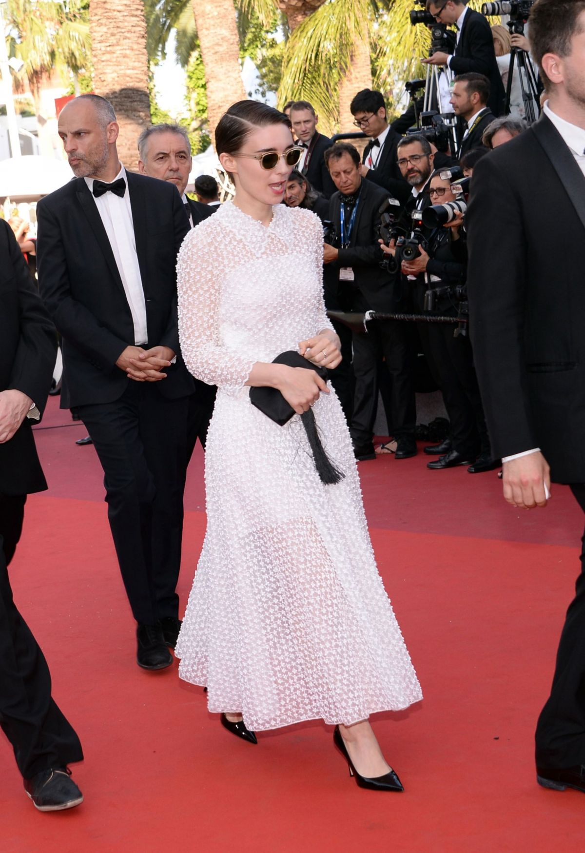 ROONEY MARA at 70th Annual Cannes Film Festival Closing Ceremony 05/28/2017
