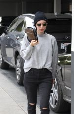 ROONEY MARA Out and About in Beverly Hills 05/17/2017