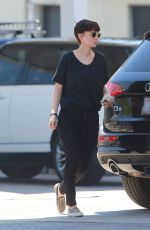 ROONEY MARA Out and About in West Hollywood 05/21/2017