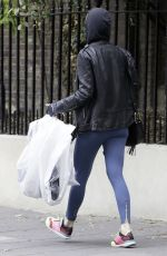 ROSAMUND PIKE Out and About in London 05/08/2017