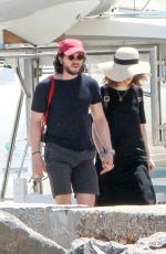 ROSE LESLIE and Kit Harington on Holiday in Greece 05/04/2017