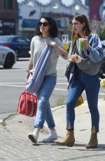 RUMER and SCOUT WILLIS Out in Los Angeles 05/12/2017
