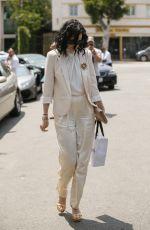 RUMER WILLIS Leaves Fig & Olive Restaurant in West Hollywood 05/17/2017