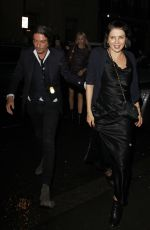 SADIE FROST Leaves Ara Vartanian x Kate Moss Launch Party in London 05/17/2017