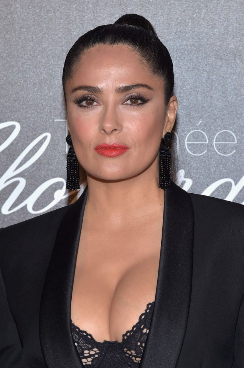 Salma Hayek At Chopard Trophy Event In Cannes 05 22 2017