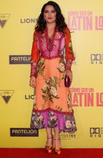 SALMA HAYEK at How to be a Latin Lover Premiere in Mexico City 05/03/2017