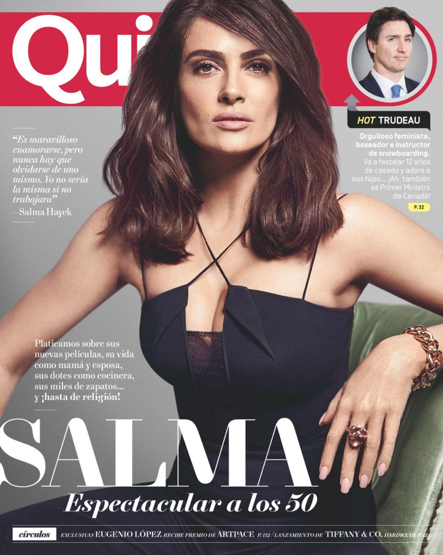 SALMA HAYEK in Quin Magazine, May 2017