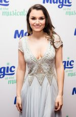 SAMANTHA BARKS at Magic at the Musical in London 05/04/2017