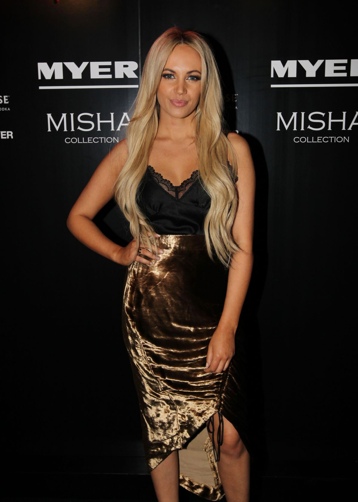 SAMANTHA JADE at Misha x Myer Party in Sydney 05/15/2017