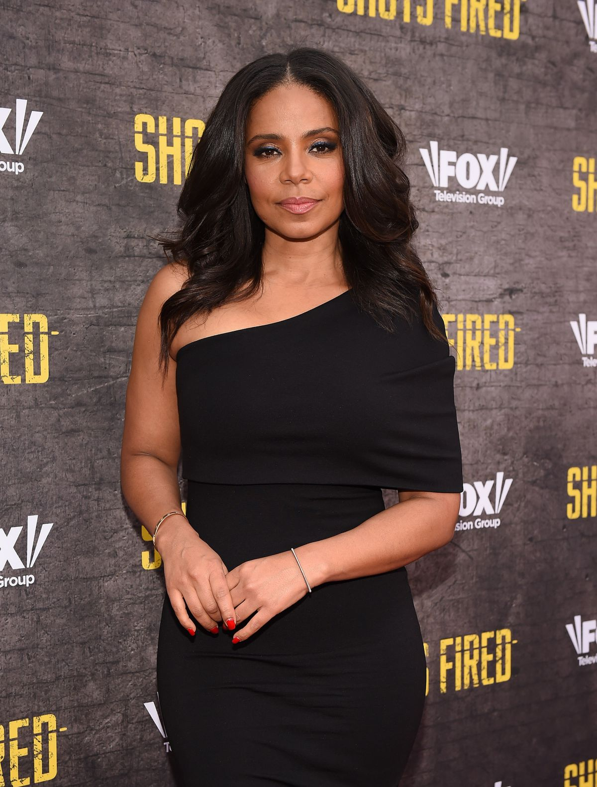SANAA LATHAN at Shots Fired Screening in Los Angeles 05/10/2017