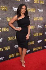 SANAA LATHAN at Shots Fired Screening in Los Angeles 05/10/2017