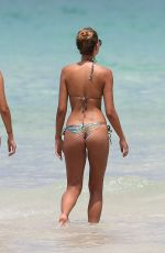 SANDRA KUBICKA in Bikini at a Beach in Miami 05/27/2017