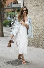 SARA CARBONERO Out Shopping in Madrid 05/30/2017