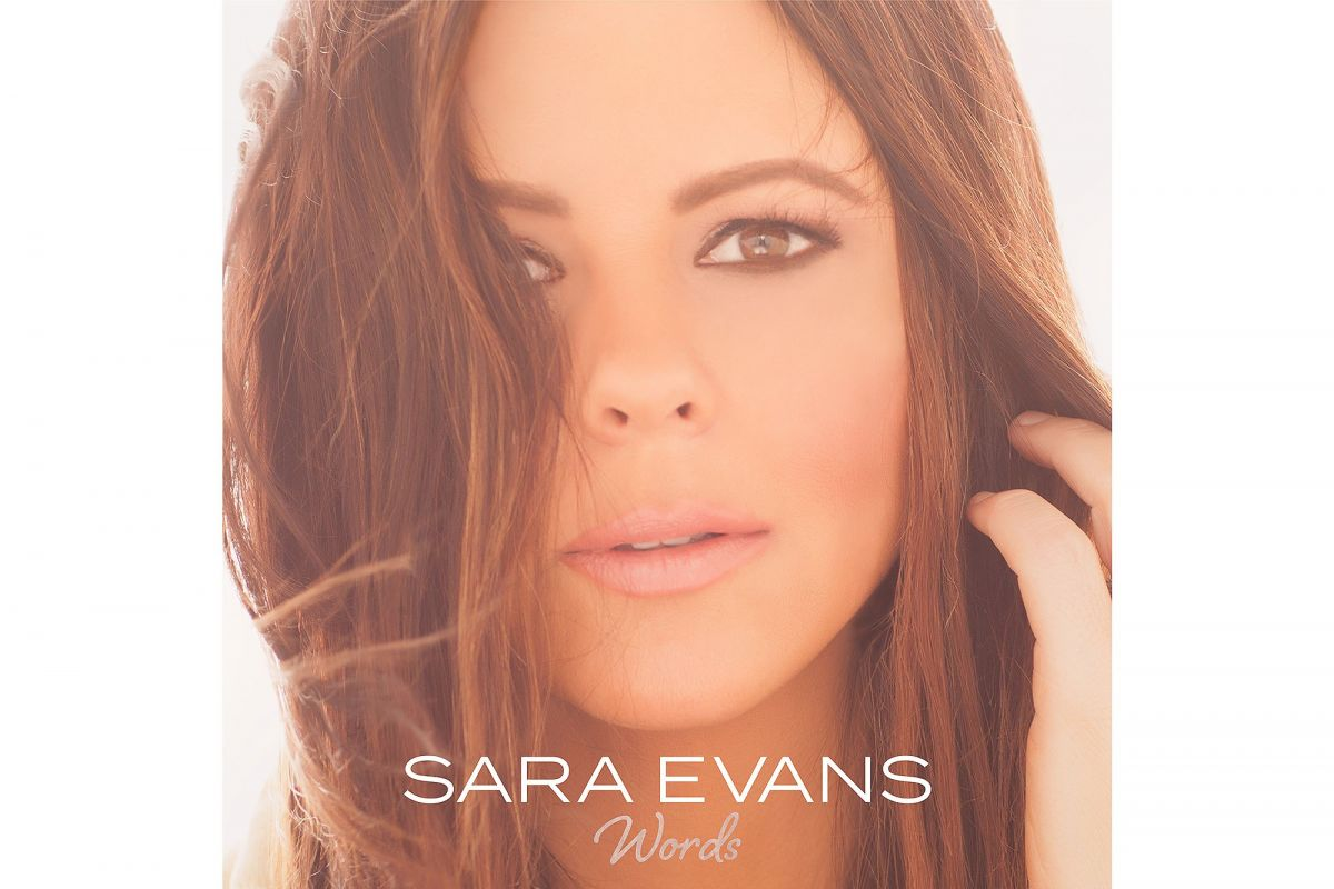 SARA EVANS Words Album Cover and Promos, Release 07/21/2017