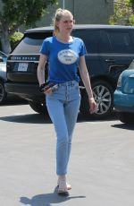 SARA FOSTER in Jeans Out in West Hollywood 05/03/2017