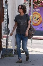 SARA GILBERT Out and About in Los Angeles 05/12/2017